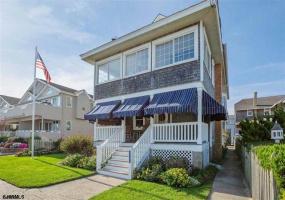 2204 Wesley, Ocean City, New Jersey 08226, 7 Bedrooms Bedrooms, 15 Rooms Rooms,2 BathroomsBathrooms,Residential,For Sale,Wesley,543356